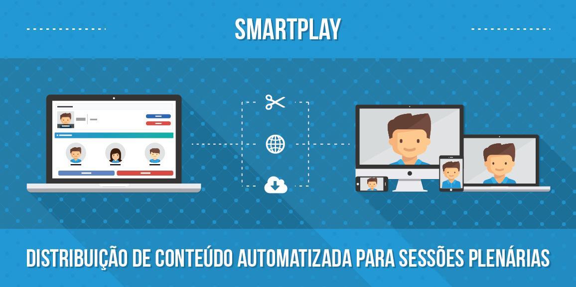 SmartPlay: distribuição de conteúdo automatizada para sessões plenárias