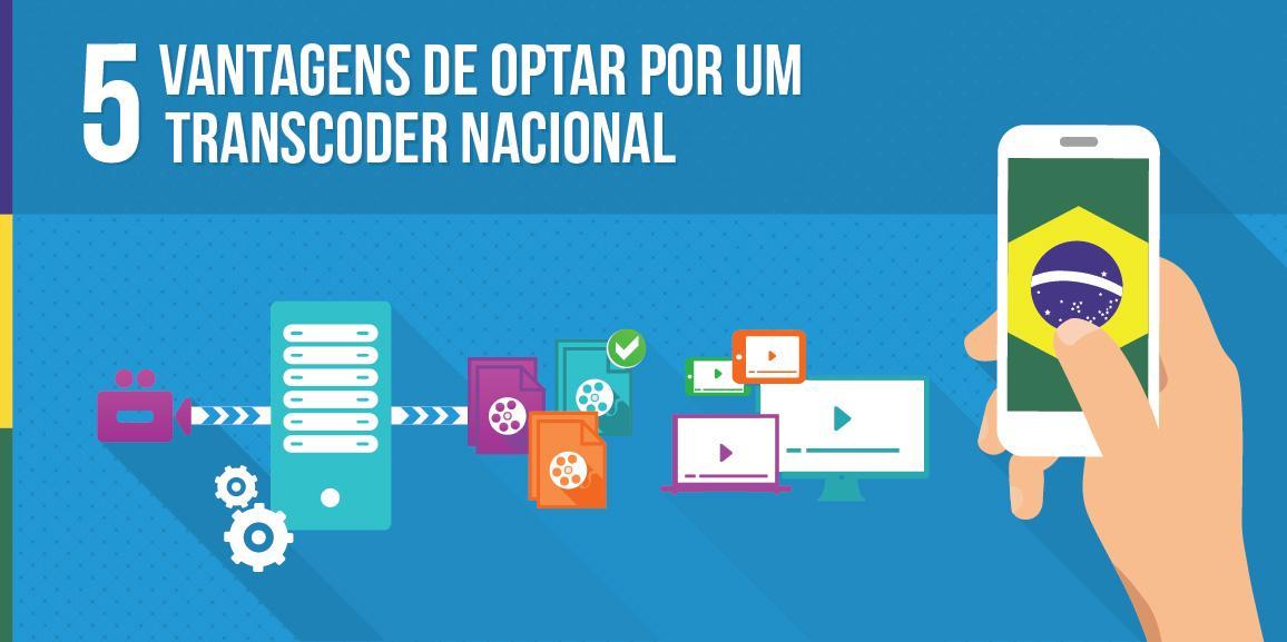5 vantagens de optar por um transcoder nacional