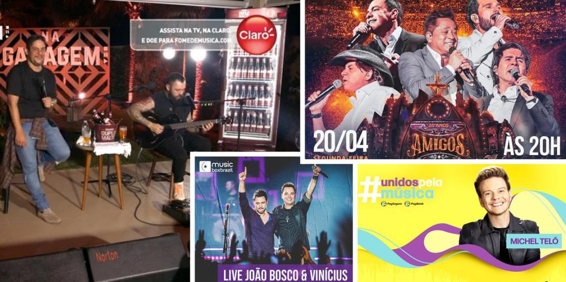 """""""LIVES"""" EM DESTAQUE – Transmissões ao vivo estão em alta!"""