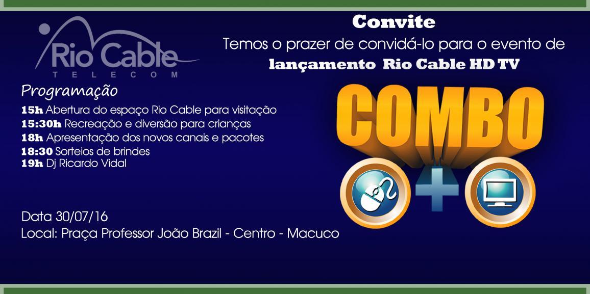 Cliente Digilab Rio Cable Telecom lança HD TV